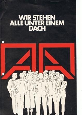 """""""A 6 Freie Liste Angestellter Architekten"""" – Wahlplakat 1979"""