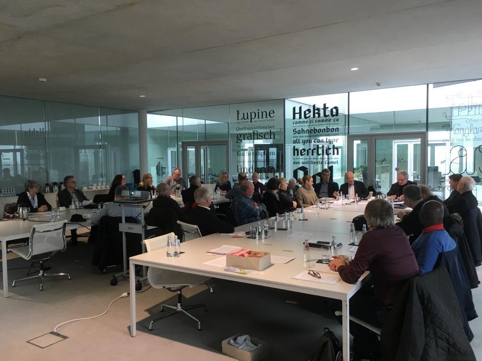 Mitgliederversammlung 2018 in Essen