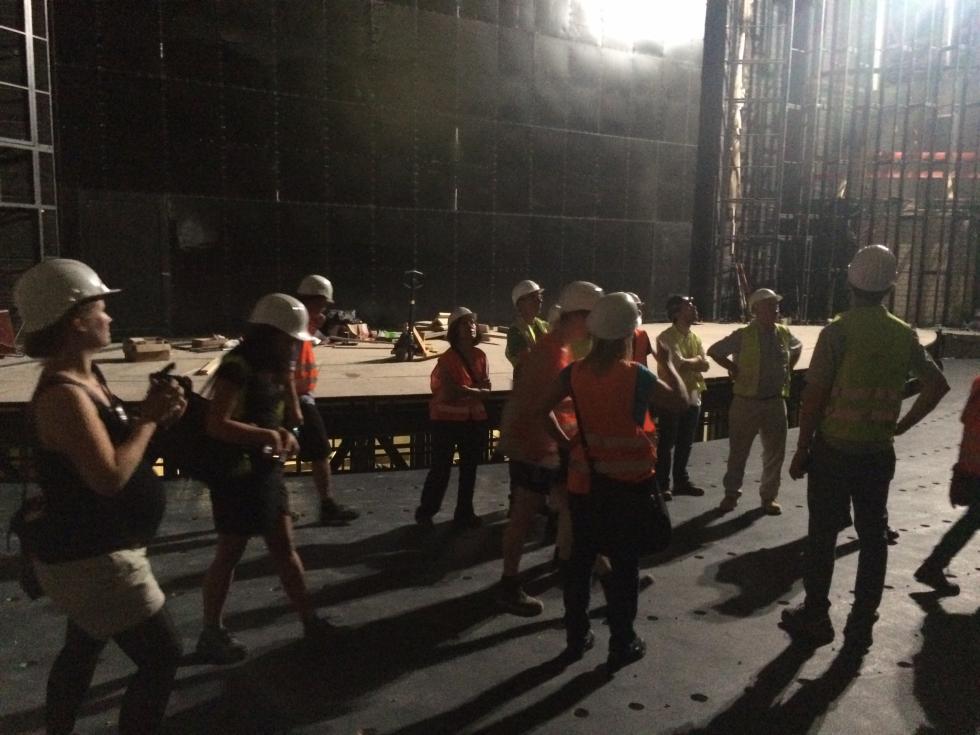 VAA on Tour - Baustelle Bühnen der Stadt Köln