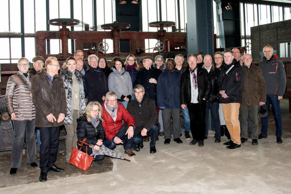 Mitgliederversammlung 2018 auf Zeche Zollverein in Essen