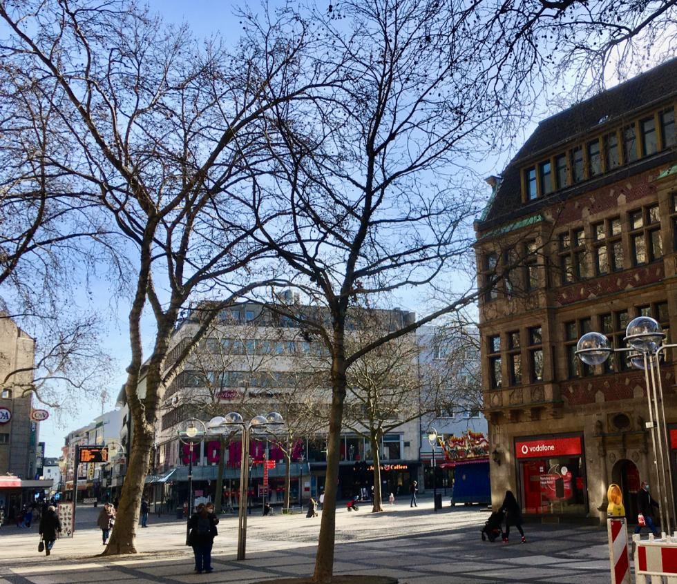 entleerte Innenstädte für die Zukunft keine Option - Dortmund am Samstag nachmittag