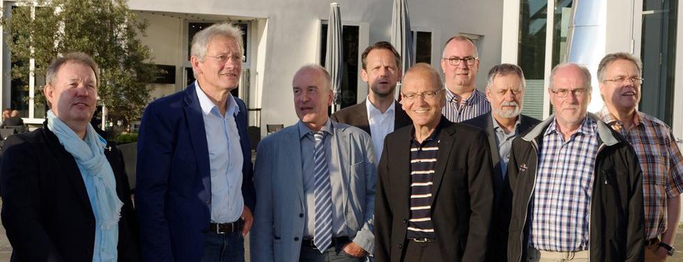 Mitglieder der VAA im Düsseldorfer Medienhafen