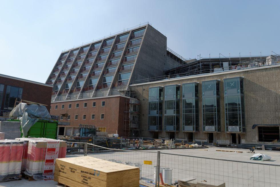 Baustelle der Oper in Köln